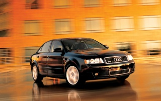 Audi A4 # 1 wallpapers and stock photos
