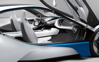 BMW Vision Right Side wallpapers and stock photos
