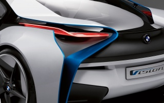 BMW Vision Rear Light wallpapers and stock photos