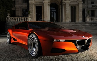 BMW M1 Hommage (1) wallpapers and stock photos