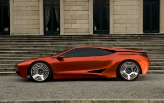 BMW M1 Hommage (3) wallpapers and stock photos
