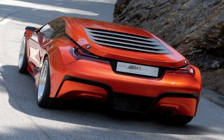 BMW M1 Hommage (13) wallpapers and stock photos