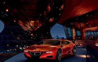BMW M1 Hommage (14) wallpapers and stock photos