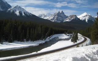 Rocky Mountains Canada wallpapers and stock photos