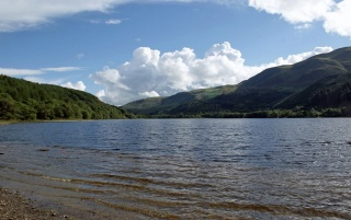 Loch Lubnaig Scotland wallpapers and stock photos