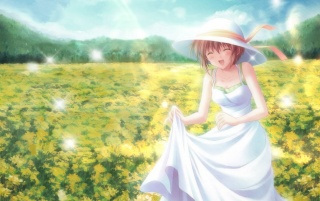 Primavera niña wallpapers and stock photos