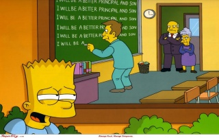 Simpsons: Bessere Principal wallpapers and stock photos