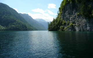 Königssee Bavaria wallpapers and stock photos