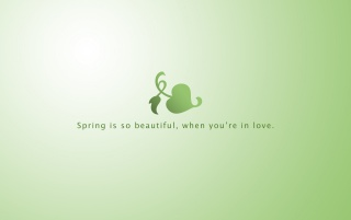Spring with love wallpapers and stock photos