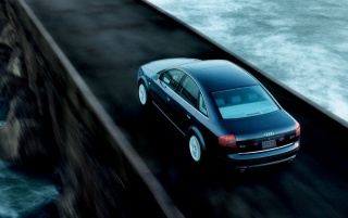 Audi A6 # 1 wallpapers and stock photos