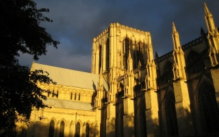 York Minster England wallpapers and stock photos