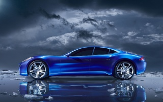 Fisker Karma-Konzept wallpapers and stock photos