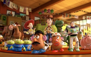 Toy Story 3 Cast wallpapers and stock photos