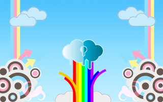Rainbow wallpapers and stock photos
