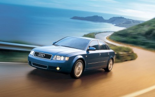Audi A4 # 2 wallpapers and stock photos