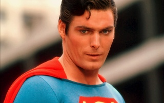 Christopher Reeve as Superman wallpapers and stock photos