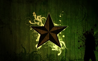 Green Star wallpapers and stock photos