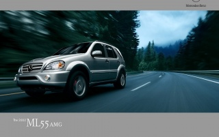 ML 55 AMG wallpapers and stock photos