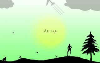Spring representation wallpapers and stock photos
