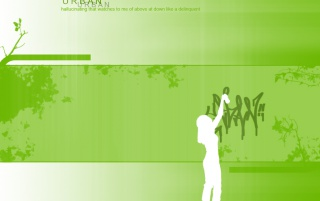 Urban green wallpapers and stock photos