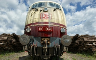 Deutsch Eisenbahnlokomotive wallpapers and stock photos
