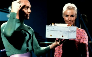 Random: Frank Gorshin as the Riddler