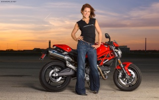 Ducati Monster Austin wallpapers and stock photos