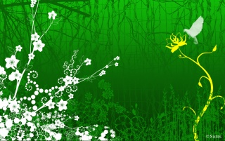 Green Fantasy wallpapers and stock photos