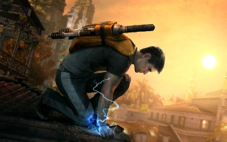Infamous 2 wallpapers and stock photos