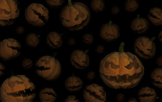 Alot of halloween pumpkins wallpapers and stock photos