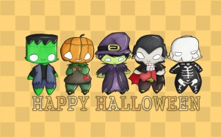 Happy Halloween everyone! wallpapers and stock photos