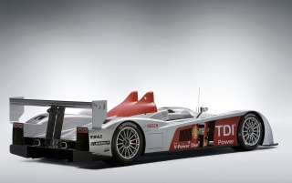 Audi R10 TDI rear wallpapers and stock photos