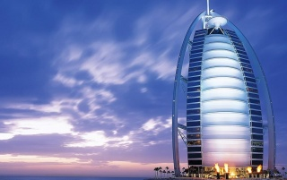 Burj Al Arab Hotel wallpapers and stock photos