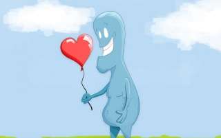 Heart balloon wallpapers and stock photos