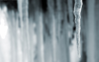 Lonely icecle wallpapers and stock photos