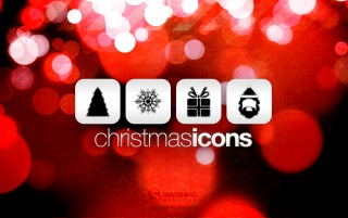 Christmas icons wallpapers and stock photos