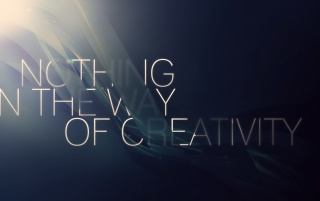 Nothing in the way of creativity wallpapers and stock photos