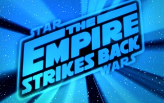 Empire Strikes Back Logo wallpapers and stock photos