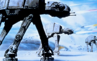 StarWars V: Imperial Walkers wallpapers and stock photos