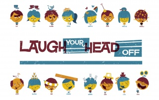 Laugh Your Head Off wallpapers and stock photos