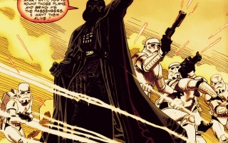 StarWars IV: A New Hope comic wallpapers and stock photos