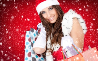 Miss Santa wallpapers and stock photos