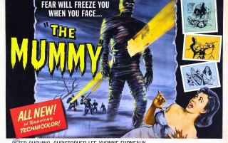 Vintage Cinema: The Mummy wallpapers and stock photos