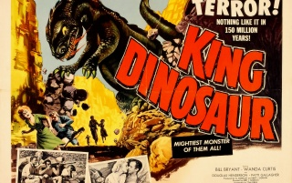 Vintage Cinema: King Dinosaur! wallpapers and stock photos