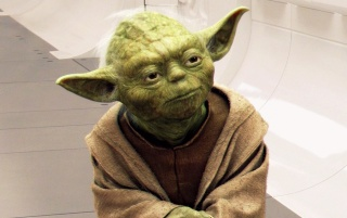 StarWars III: Master Yoda wallpapers and stock photos