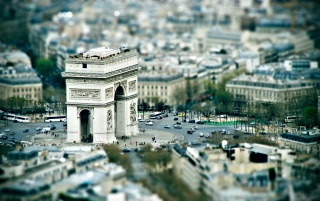 Le Petit Arc de Triomphe wallpapers and stock photos