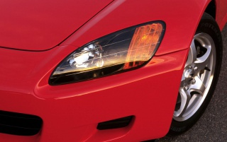Honda S2000 rot wallpapers and stock photos