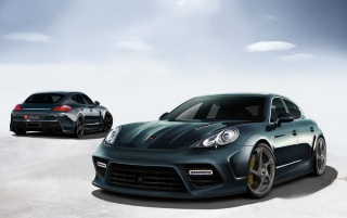 Porsche Panorama Mansory Tunin wallpapers and stock photos