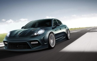 Porsche Panorama Mansory 2 wallpapers and stock photos