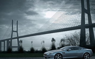 Aston Martin DBS by Bridge wallpapers and stock photos